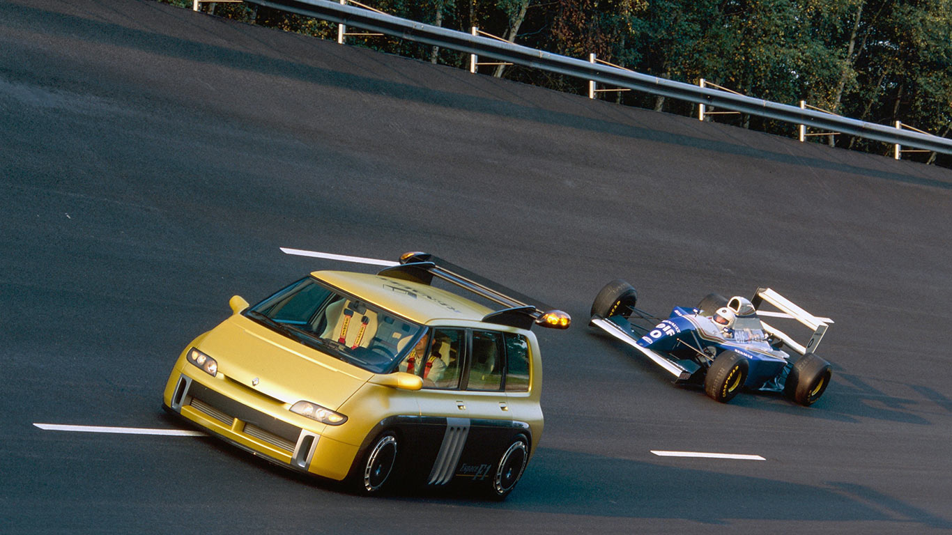 Cars inspired by F1