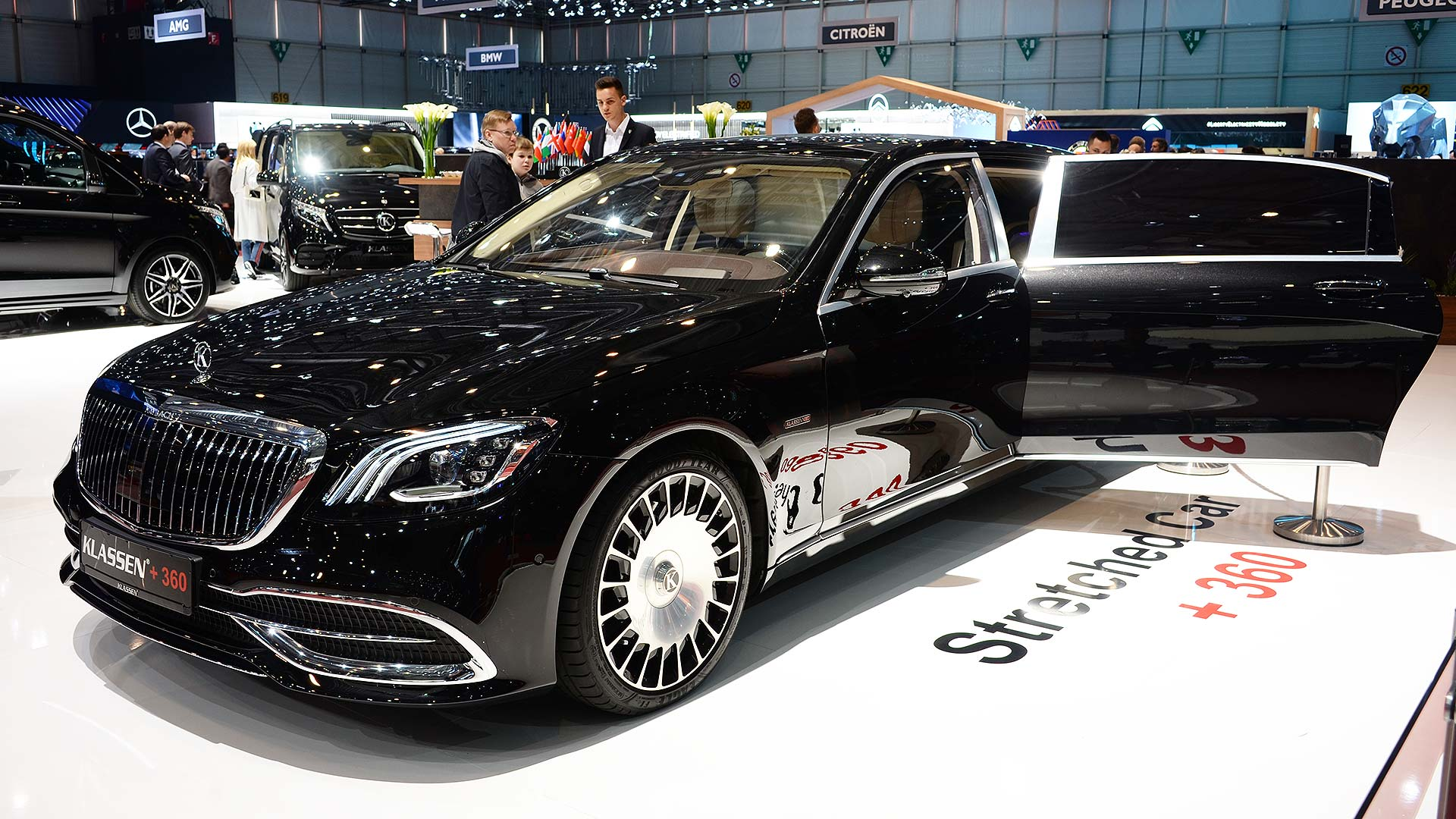 Klassen Mercedes-Maybach S 650