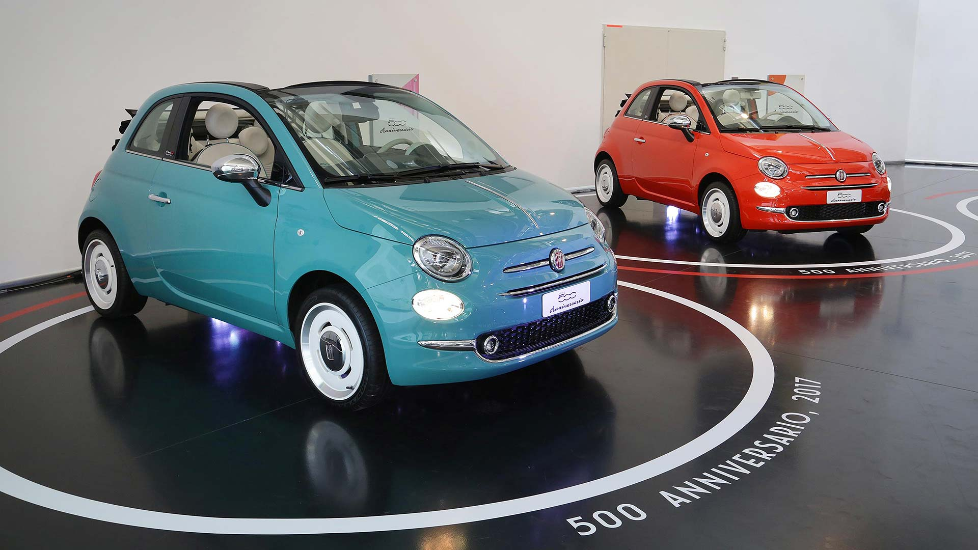 new tesla inspired electric fiat 500 confirmed for next year. Black Bedroom Furniture Sets. Home Design Ideas