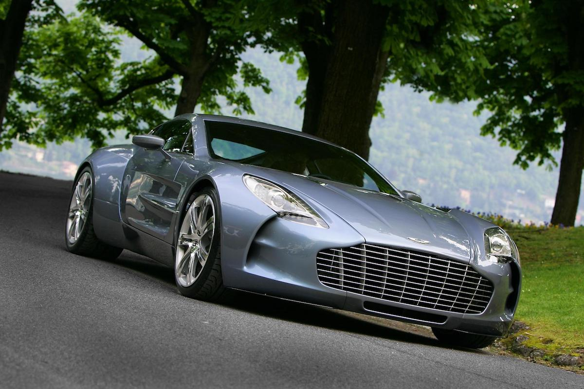 2009 Aston Martin One-77 Geneva