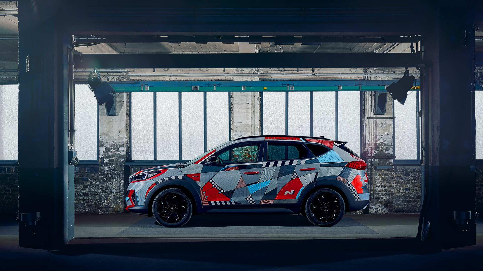 2019 Hyundai Tucson N Line Project Art Car