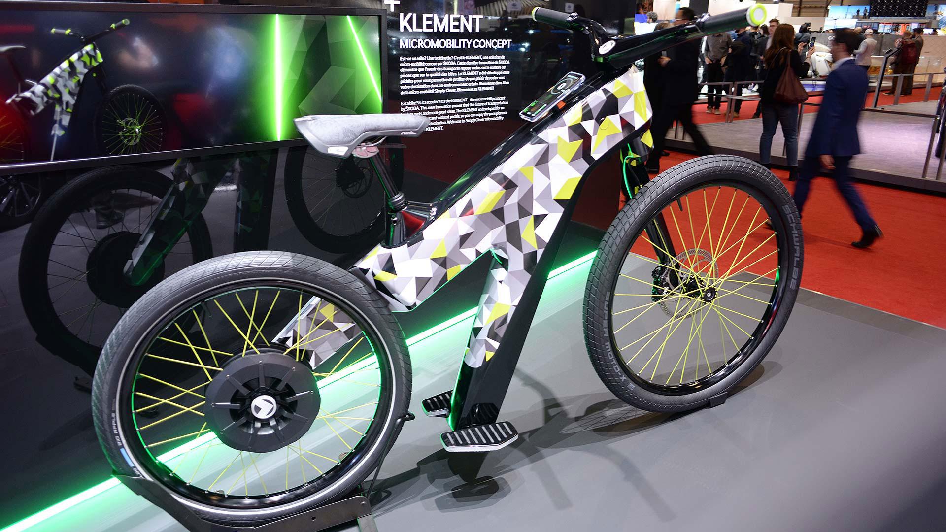 Skoda Klement electric bike