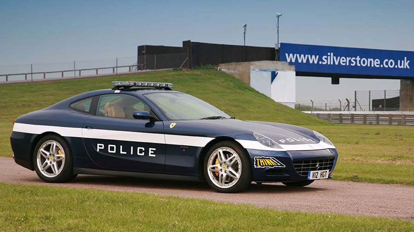 World's coolest police cars