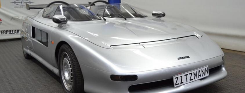 Aztec Barchetta weirdest supercar in the world