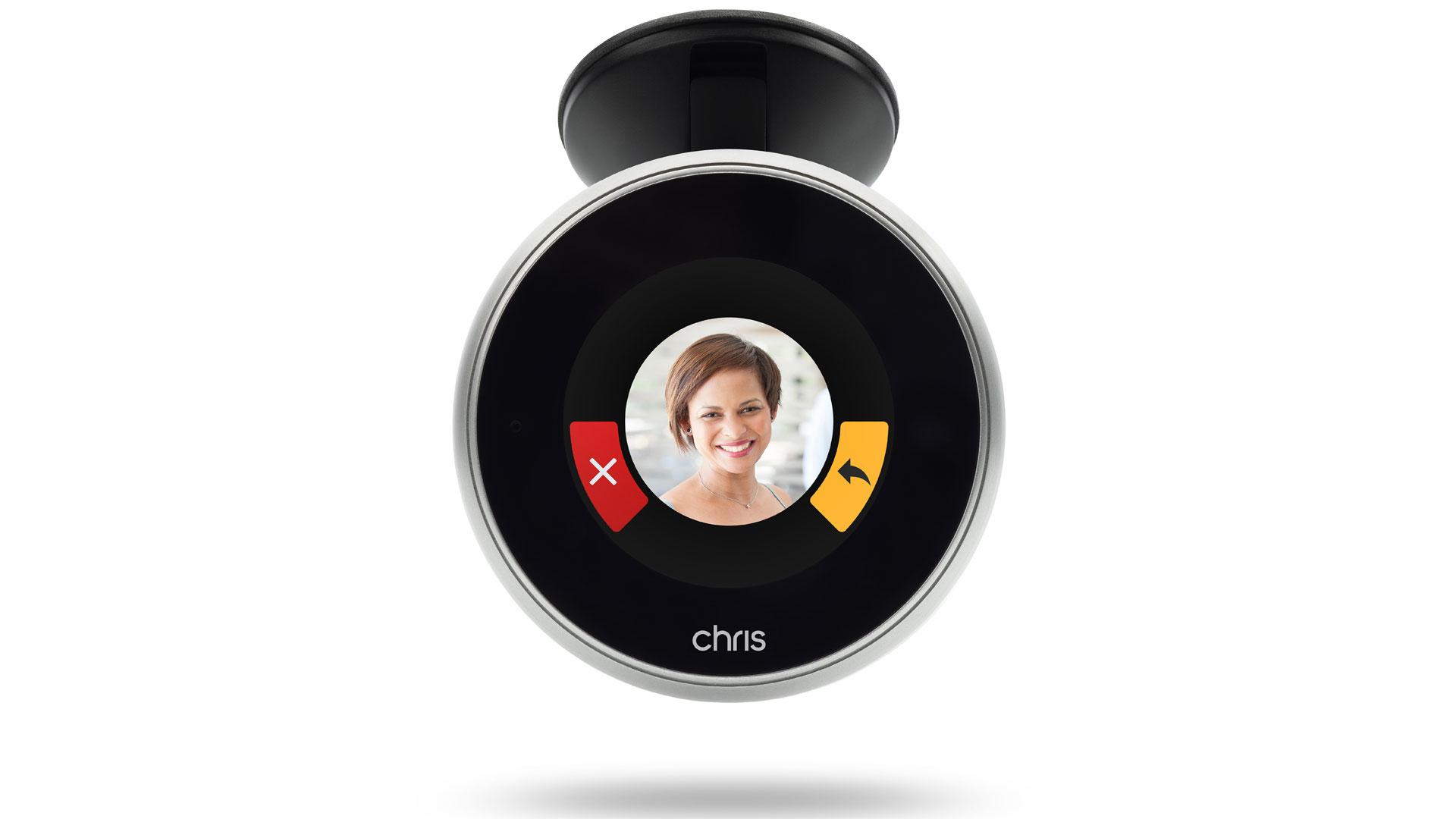 Chris in-car digital call