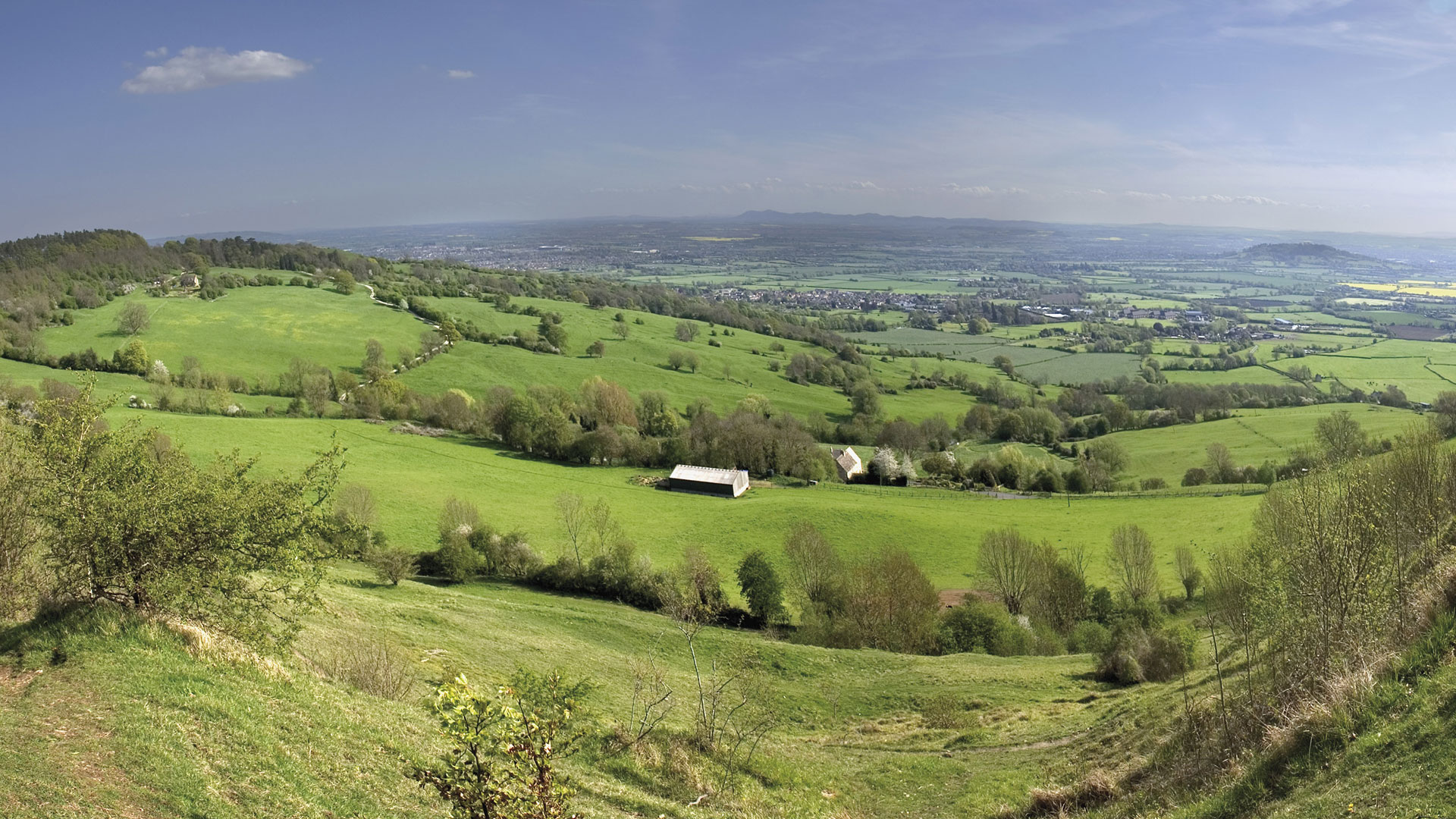 Crickley Hill Gloucestershire