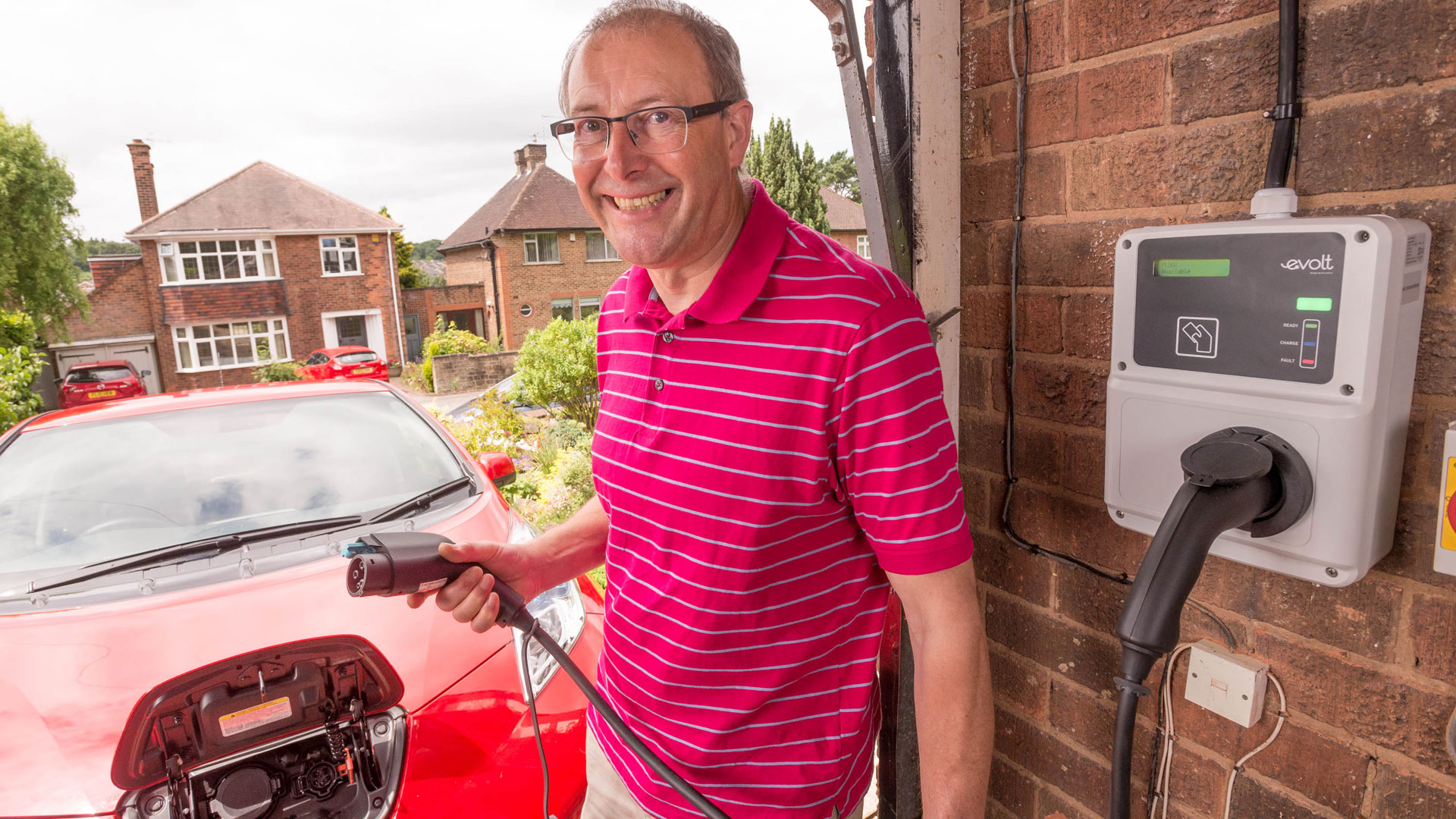 Electric charging at home
