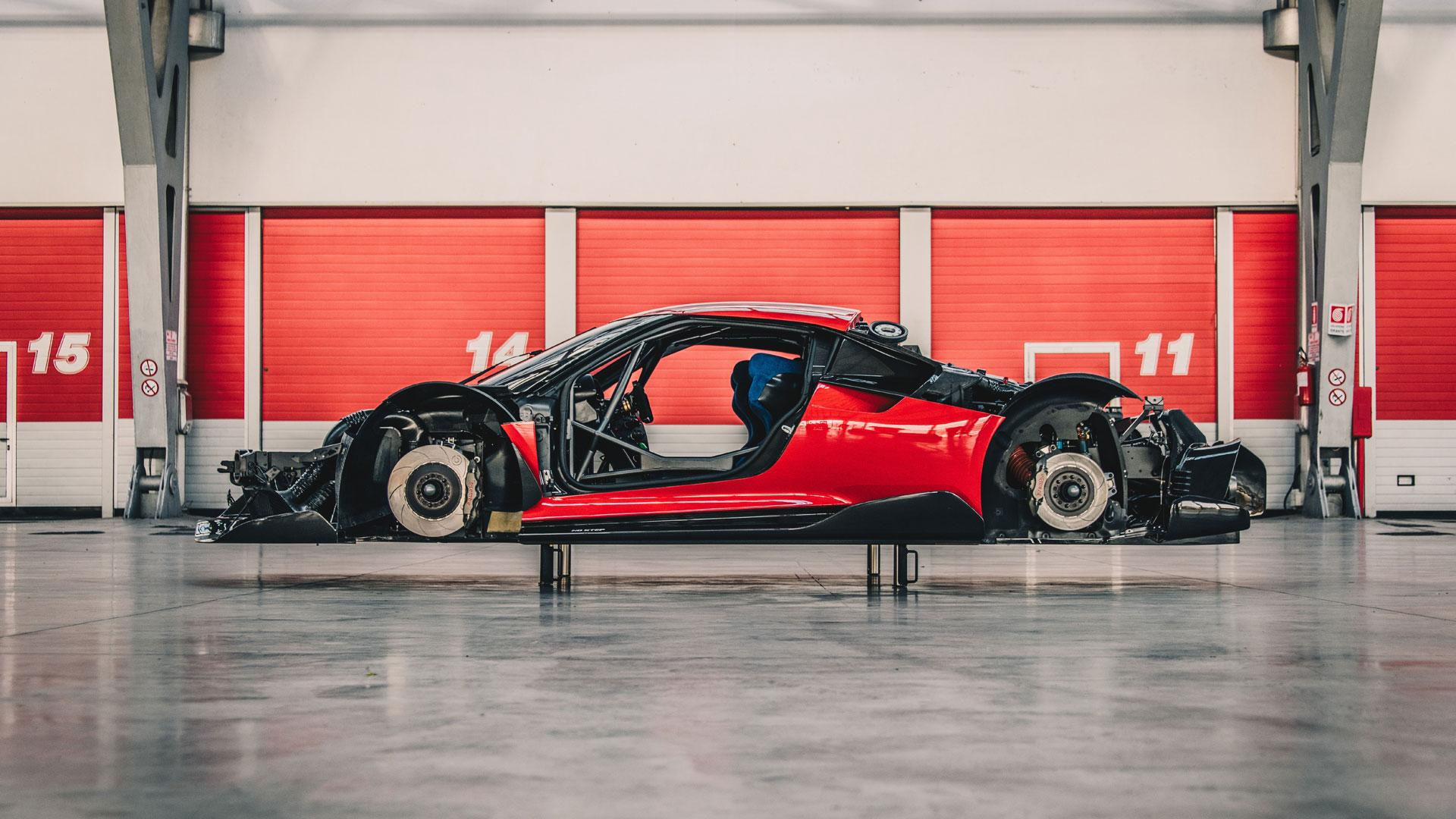 Ferrari P80C development