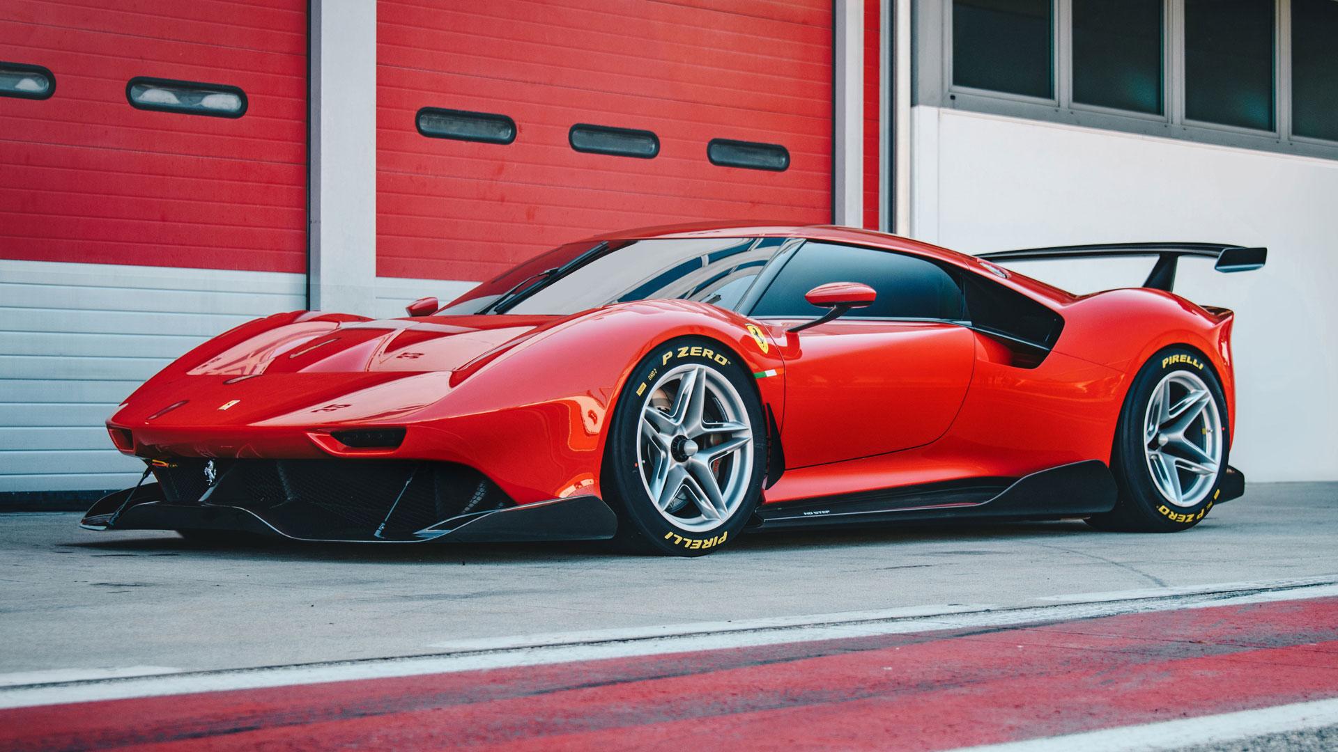 Ferrari P80C