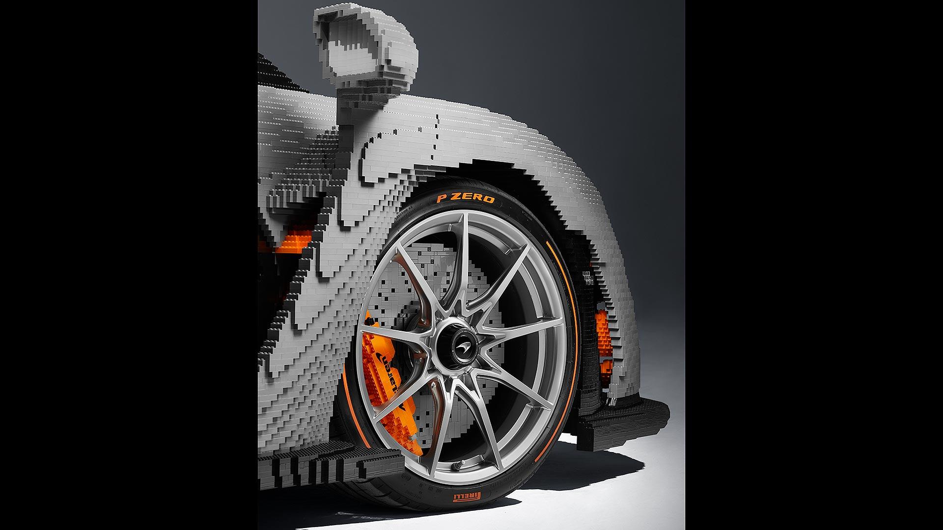 LEGO McLaren Senna front tyre