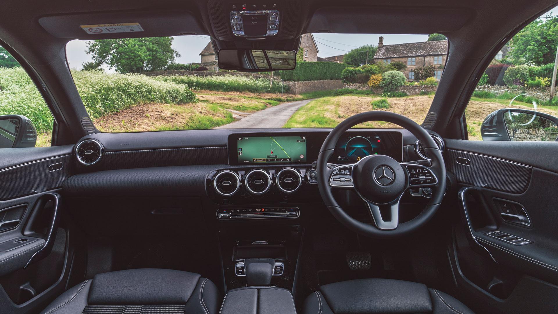 Mercedes A-Class dashboard