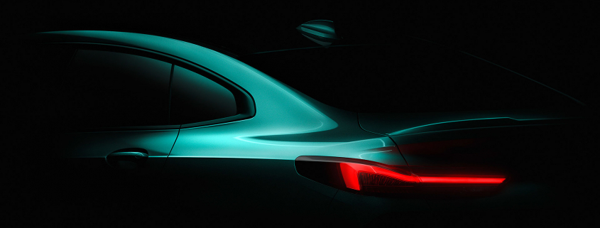 BMW 2 Series Gran Coupe teaser