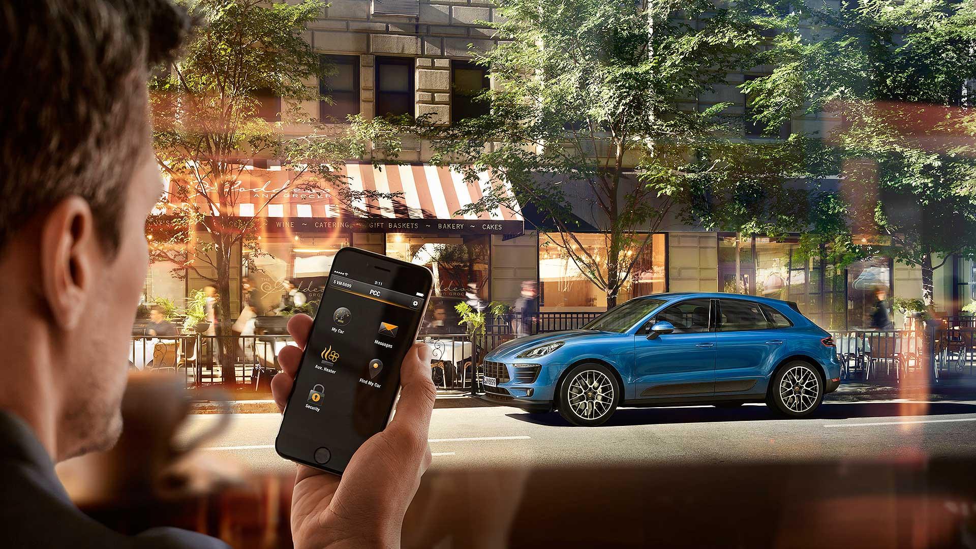 Porsche Macan remote locking App