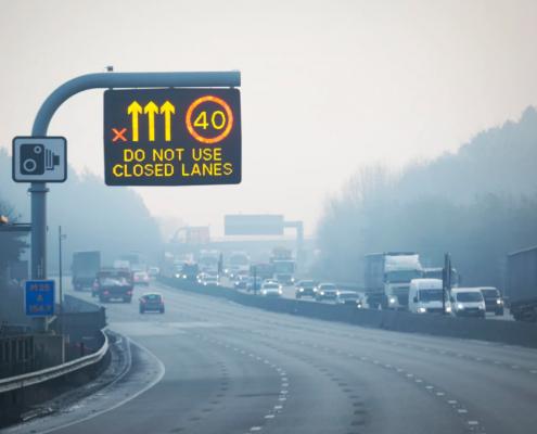 Rex X smart motorways