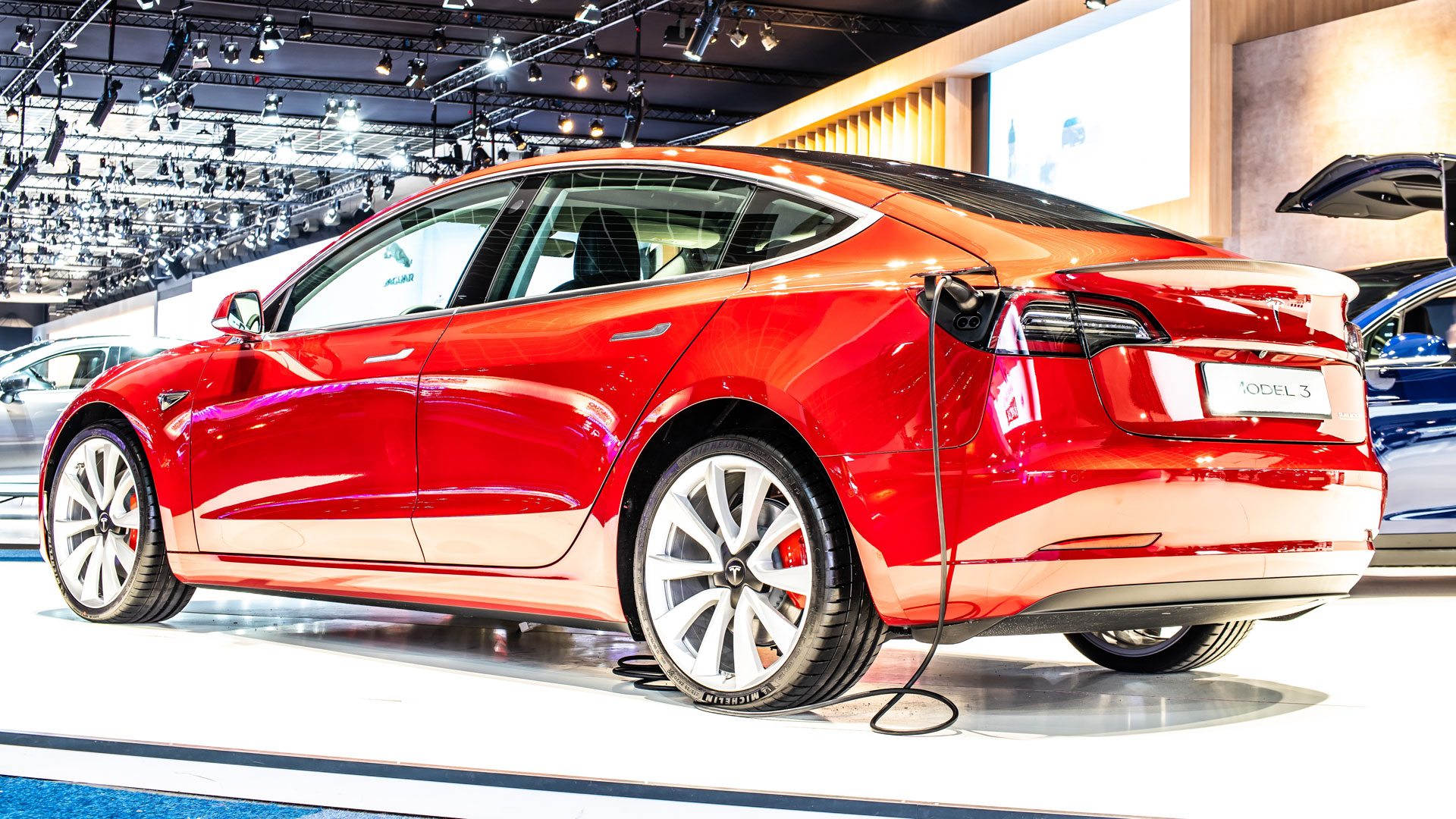 Tesla Model 3 Brussels Motor Show