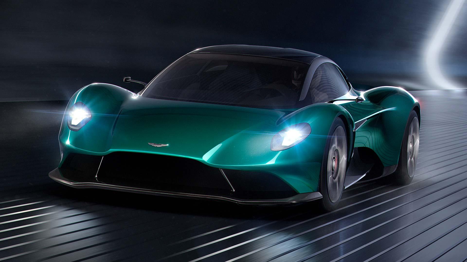 Aston Martin Vanquish Vision Concept