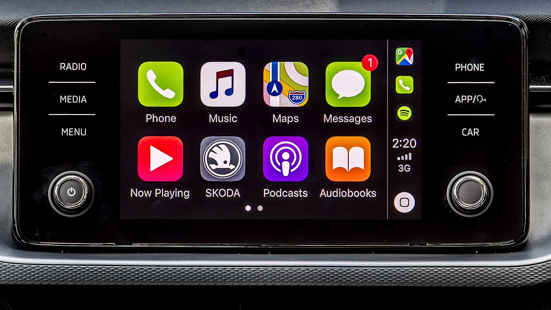 2019 Skoda Scala Apple CarPlay