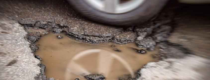 Pothole repairs UK roads