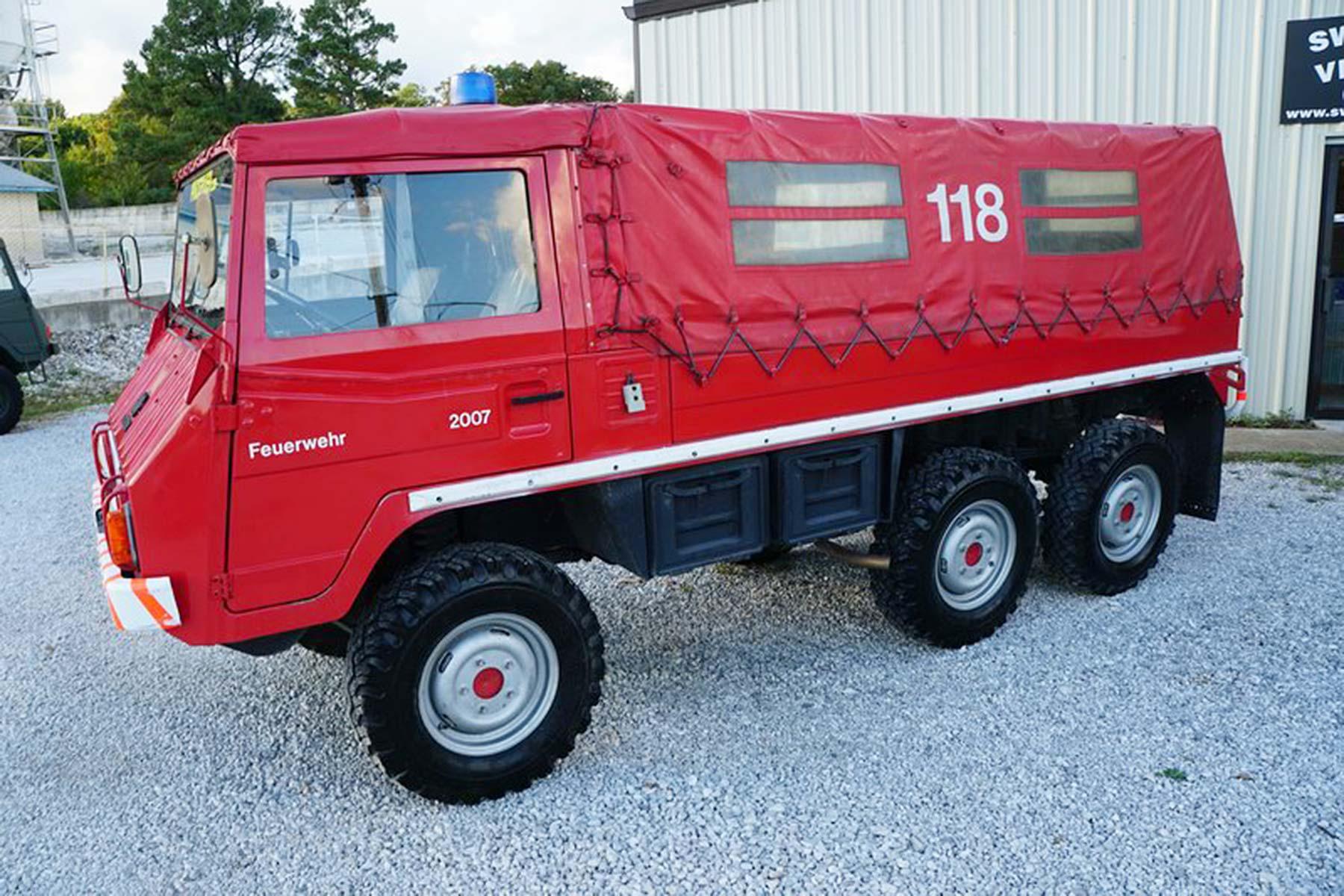 Pinzgauer 712M Fire Truck