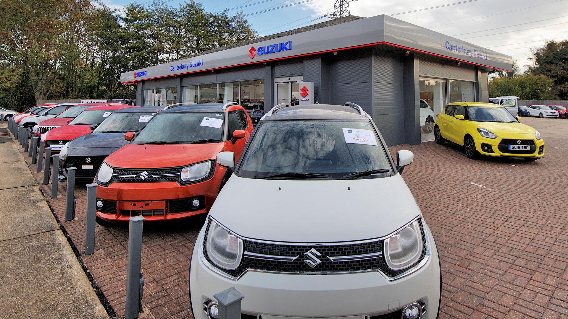 UK Suzuki dealer