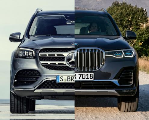 BMW X7 Mercedes GLS