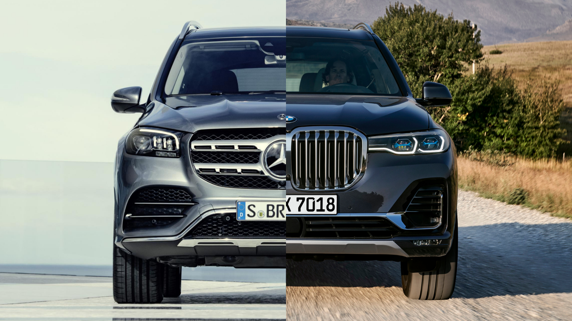 Mercedes Gls And Bmw X7 Germany S 2019 Super Suvs Motoring Research