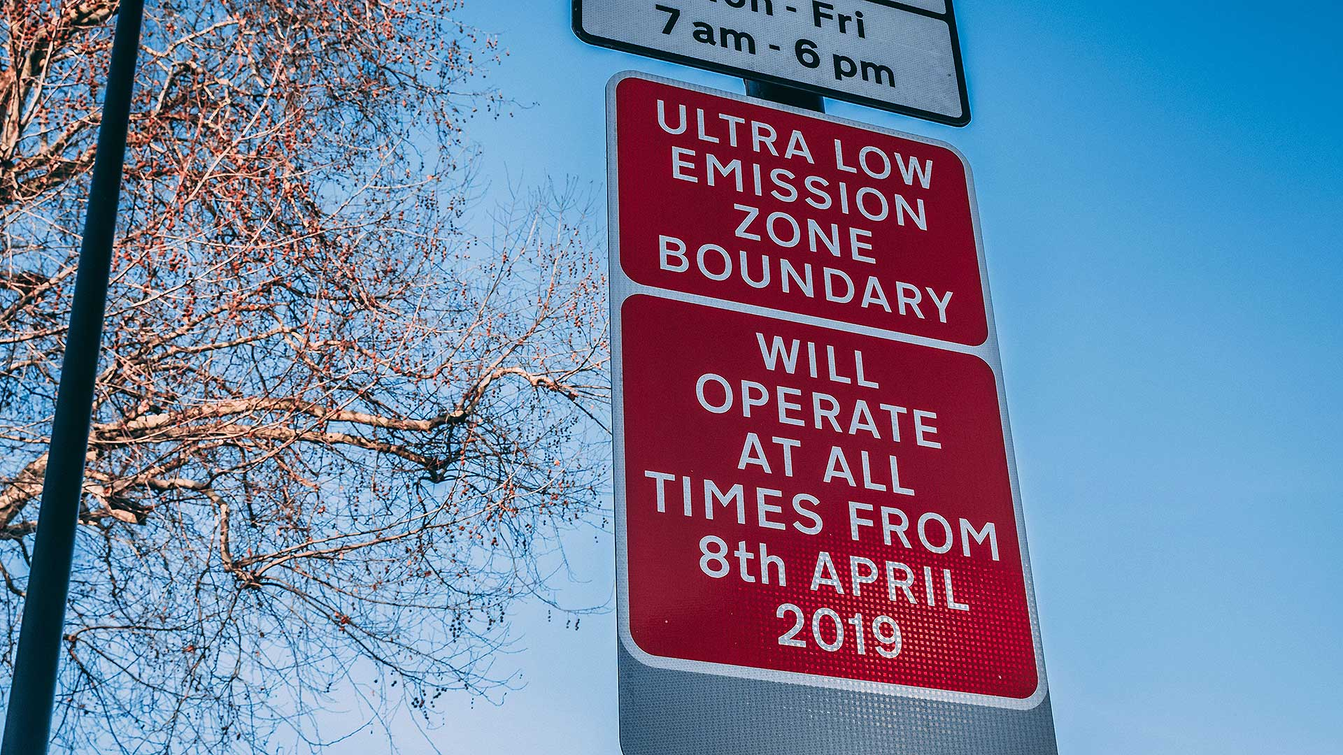 Ultra-Low Emission Zone introduced to London