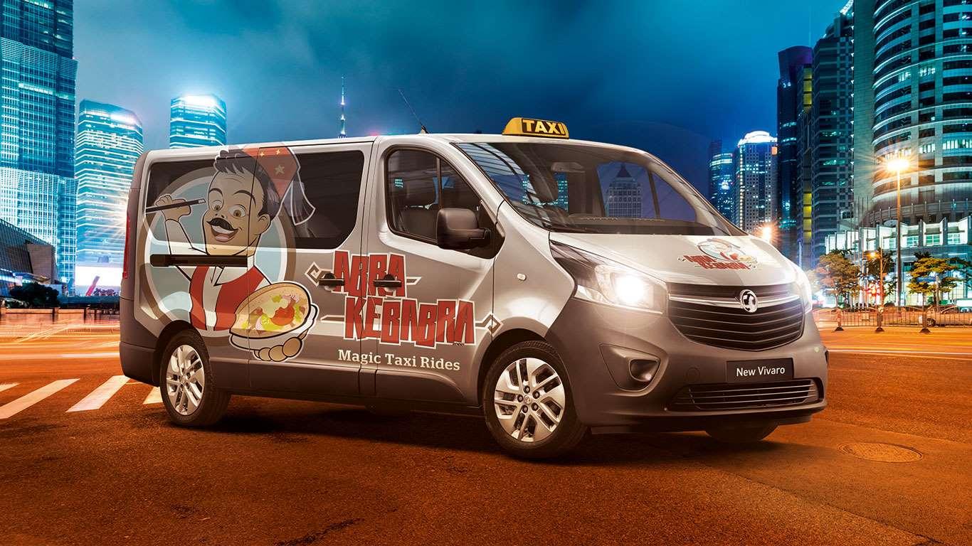 Vauxhall Taxi Kebabi