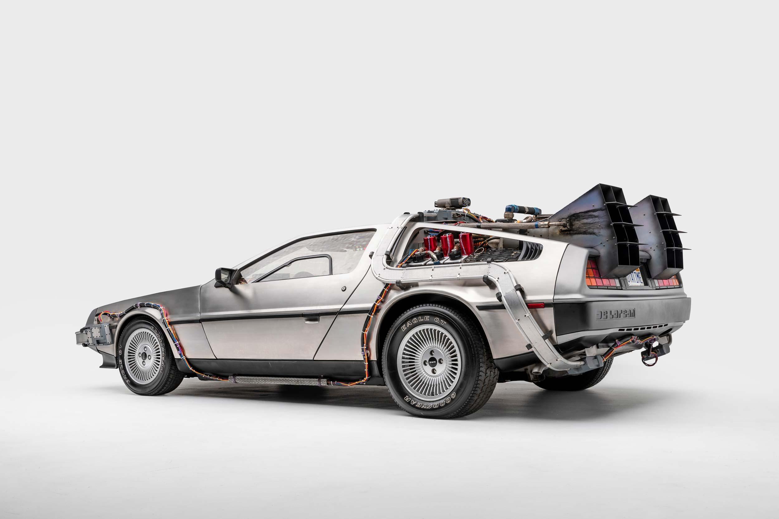 Back to the Future Time Machine DeLorean