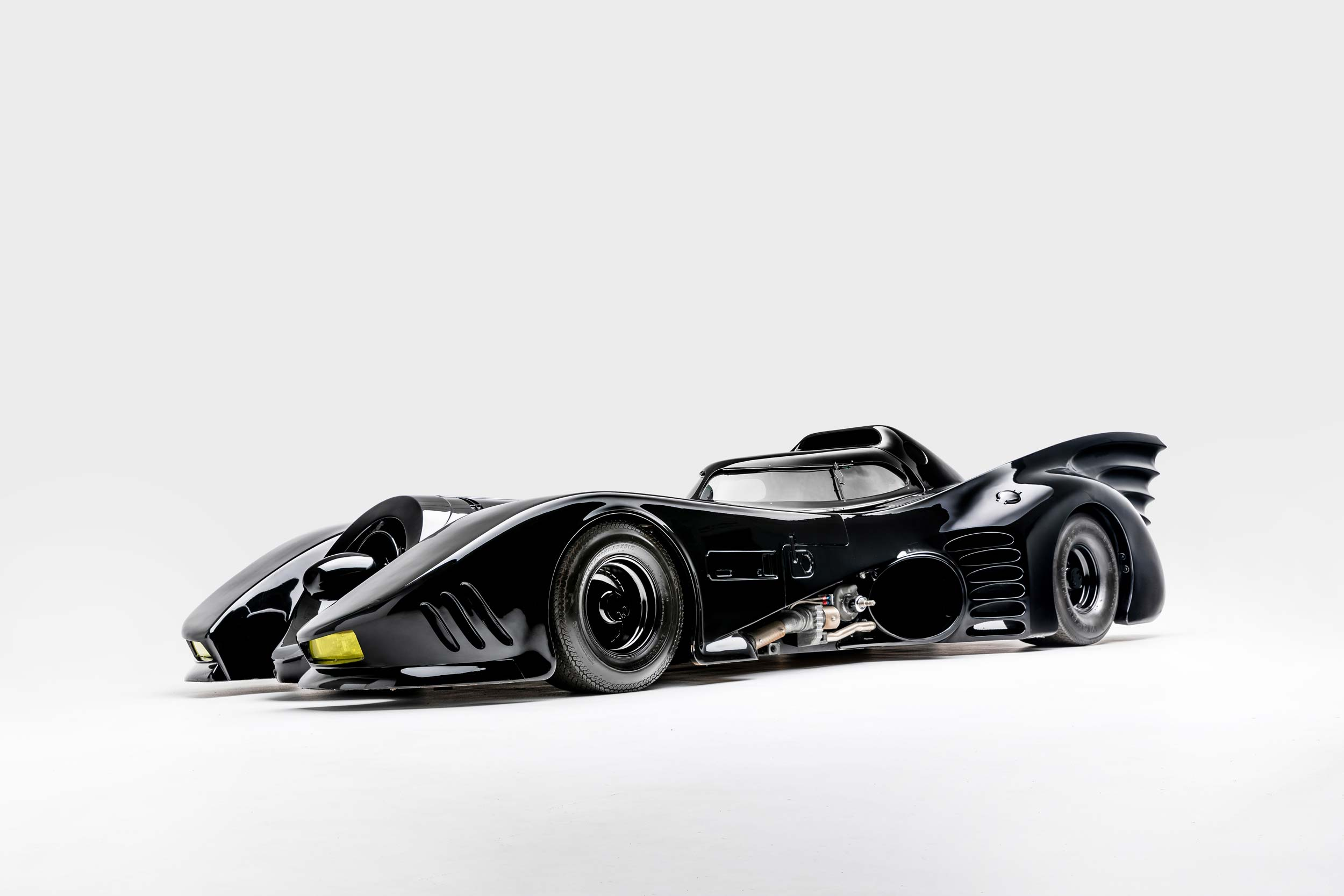 Batman and Batman Returns Batmobile
