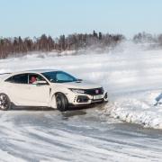 Civic ice driving