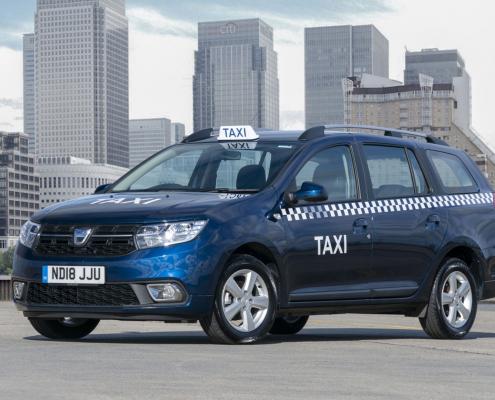 Dacia Logan MCV taxi