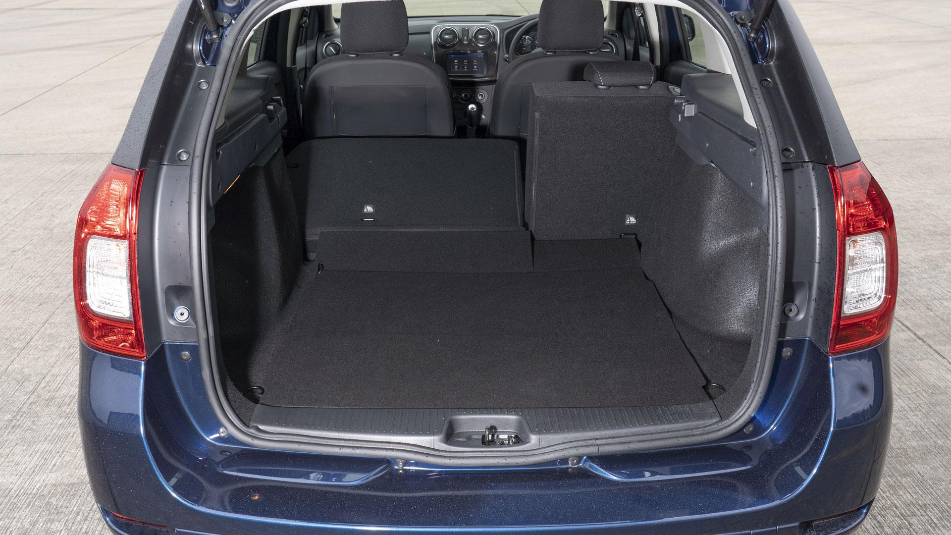Dacia Logan MCV taxi boot