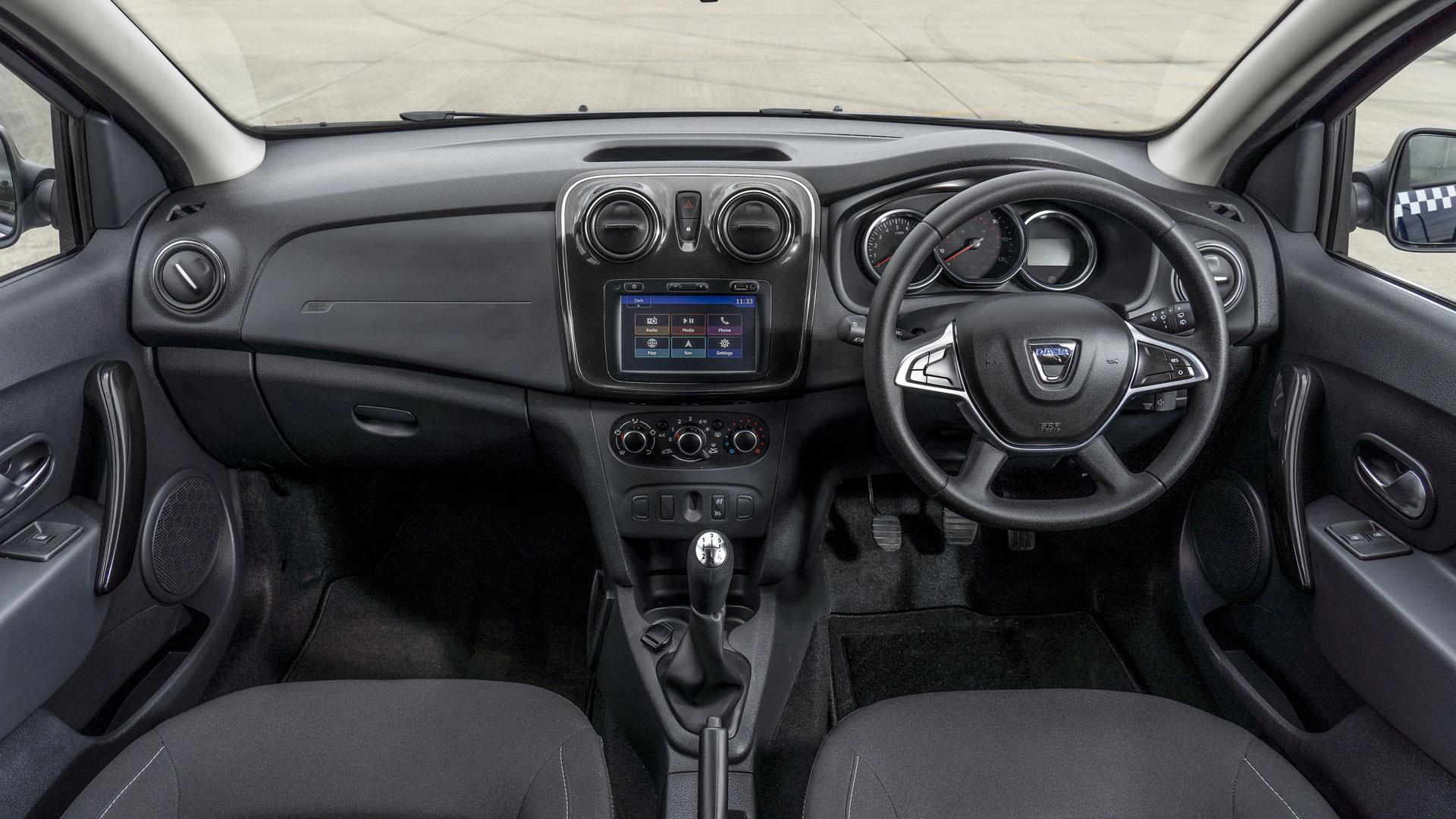 Dacia Logan MCV taxi cabin
