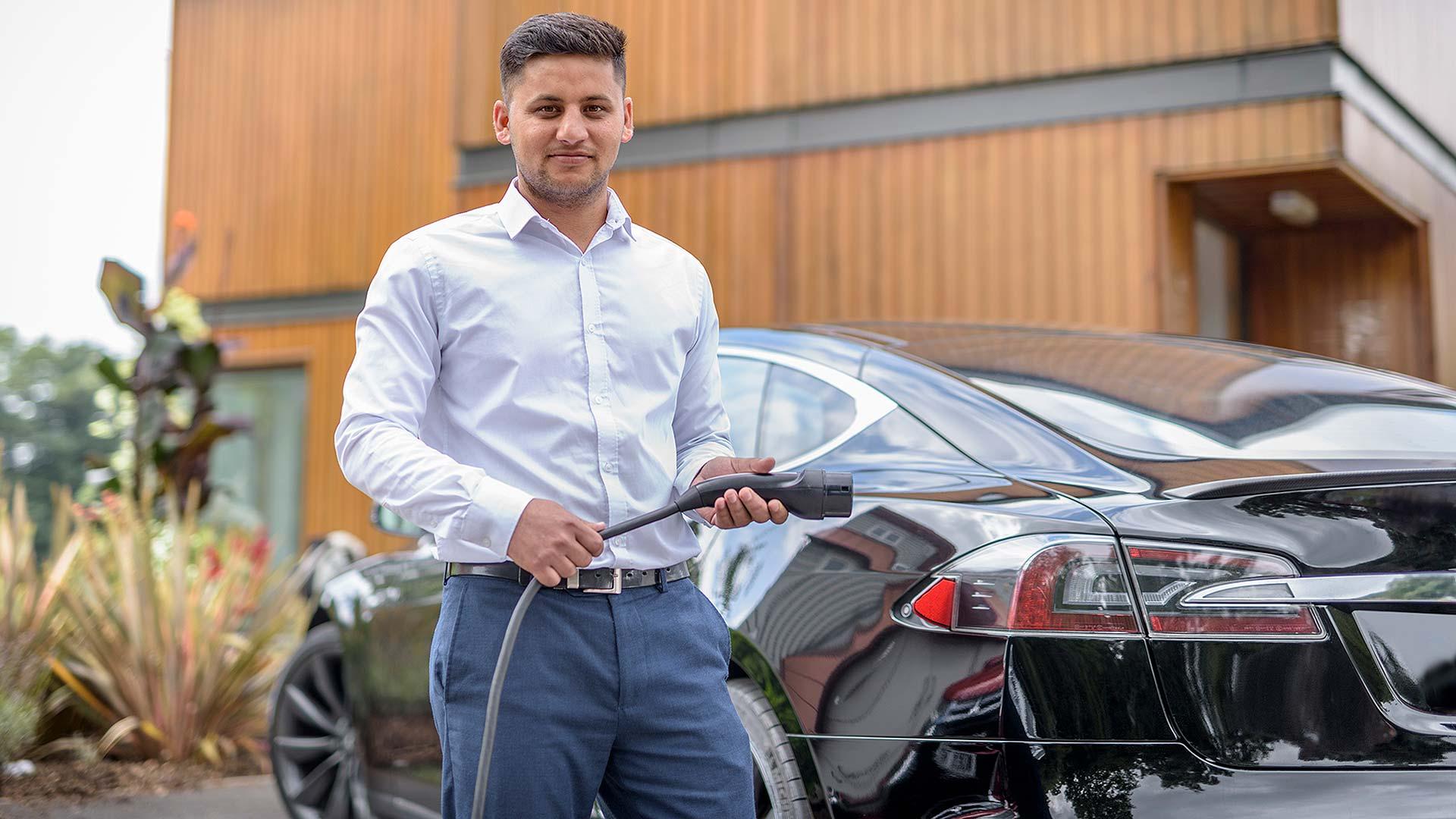 Electric Nation Tesla owner