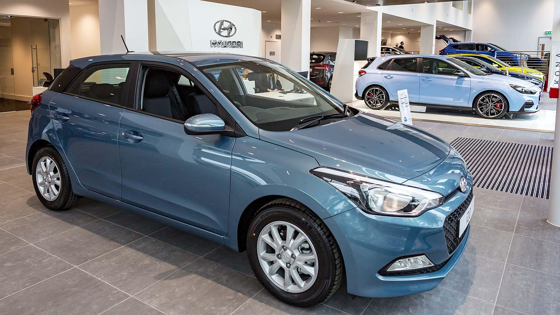 Hyundai new car dealer