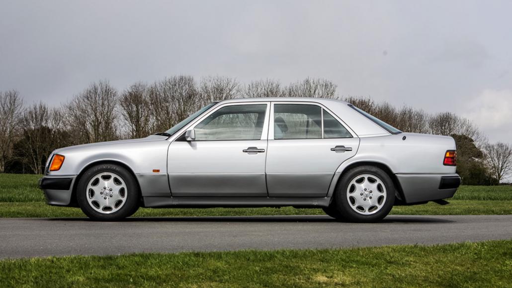 Mercedes-Benz 500E Rowan Atkinson