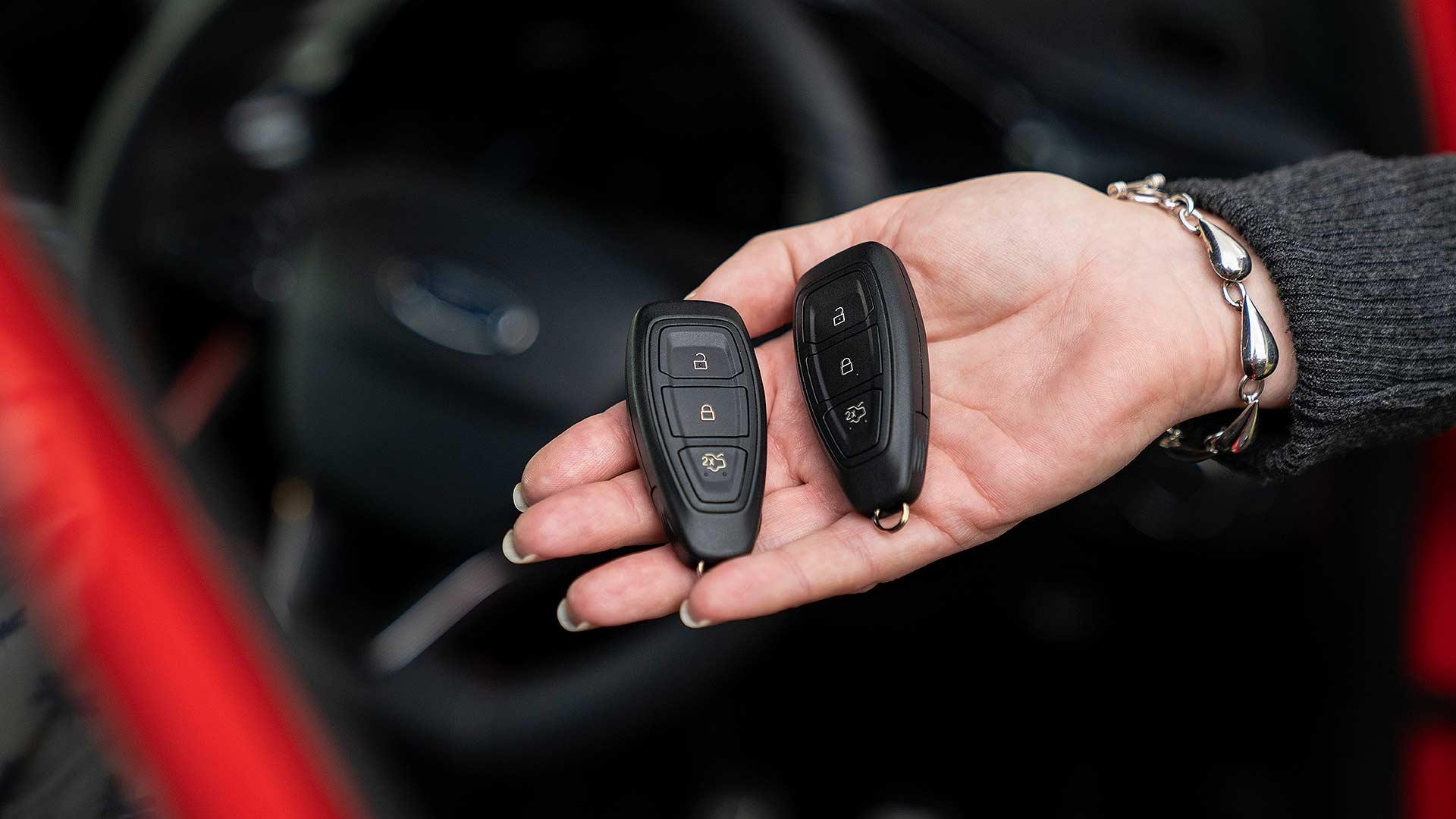 New smart Ford keyfobs