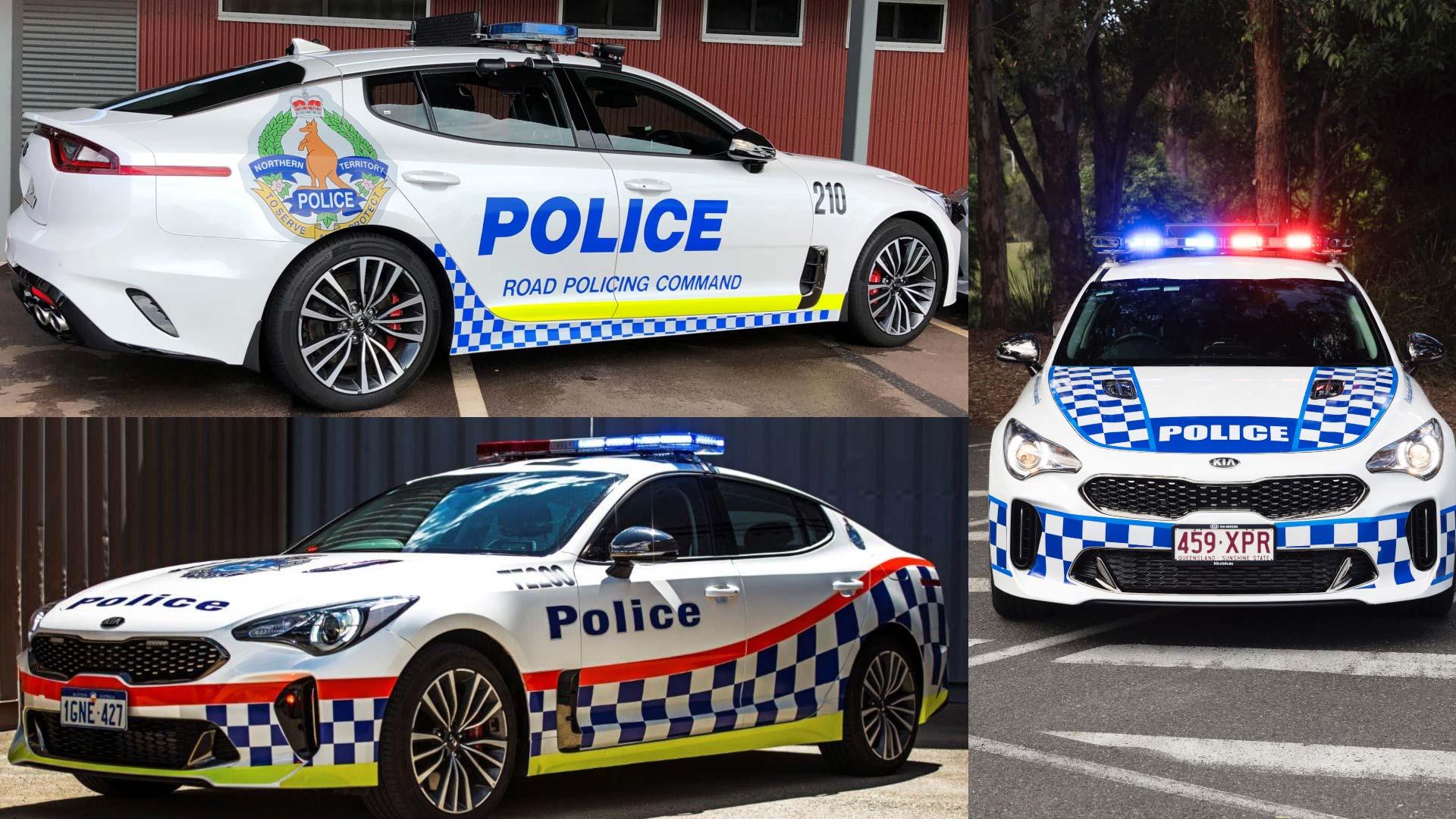 Northern Territory Police Kia Stinger