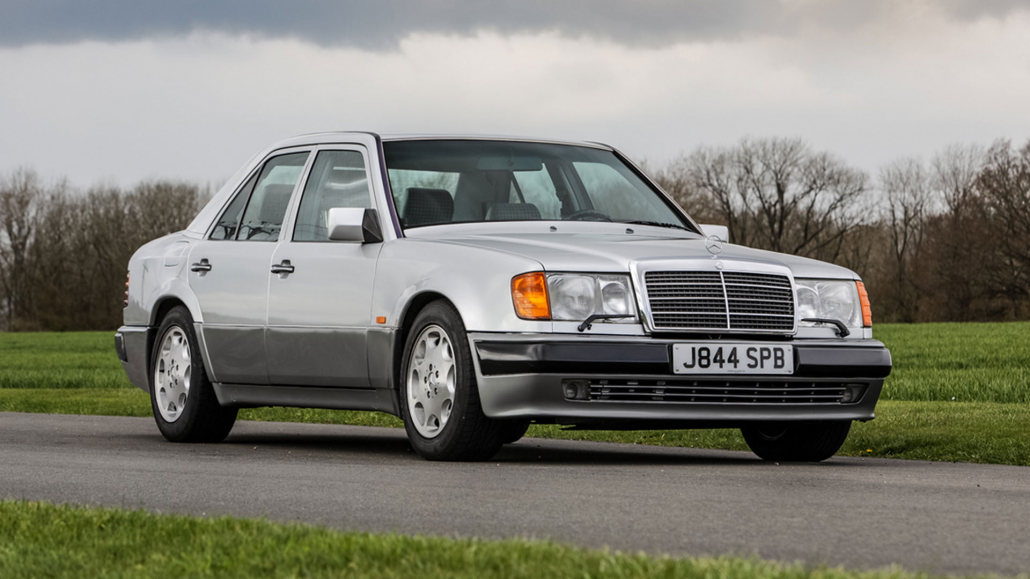 Rowan Atkinson Mercedes auction