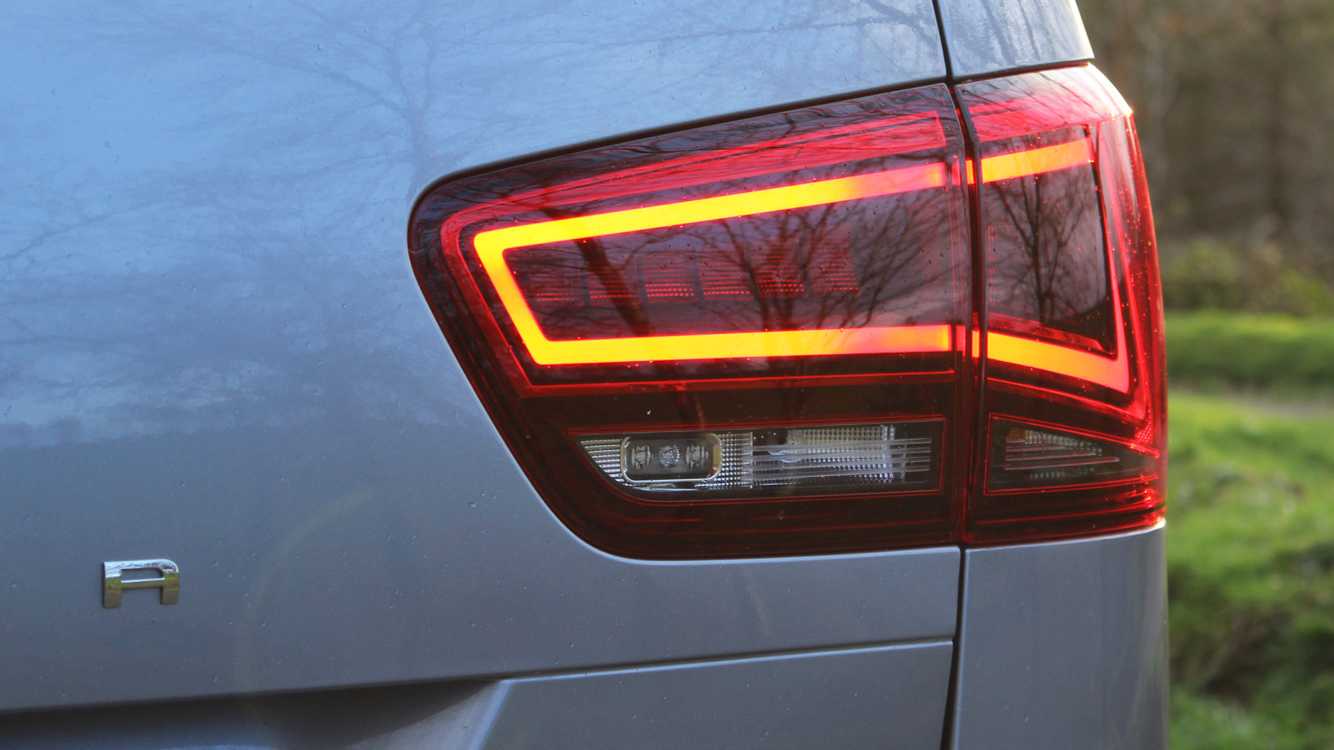 Seat Alhambra rear light