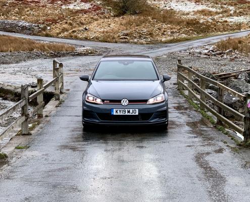Volkswagen Golf GTI TCR in Wales