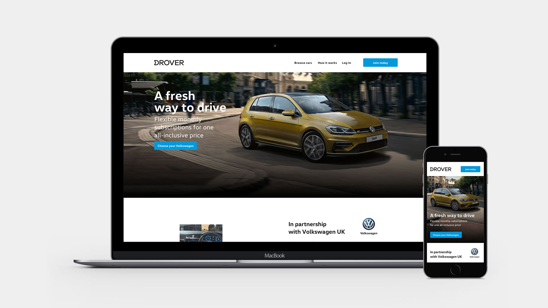 Volkswagen subscription service