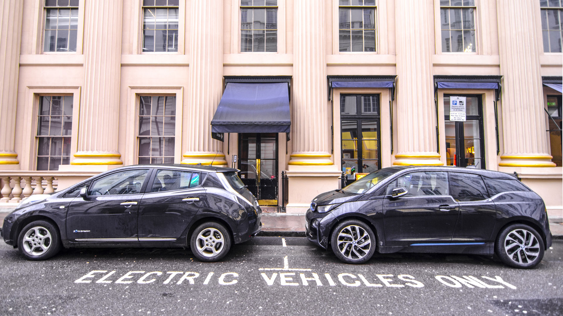 electric cars in London ULEV