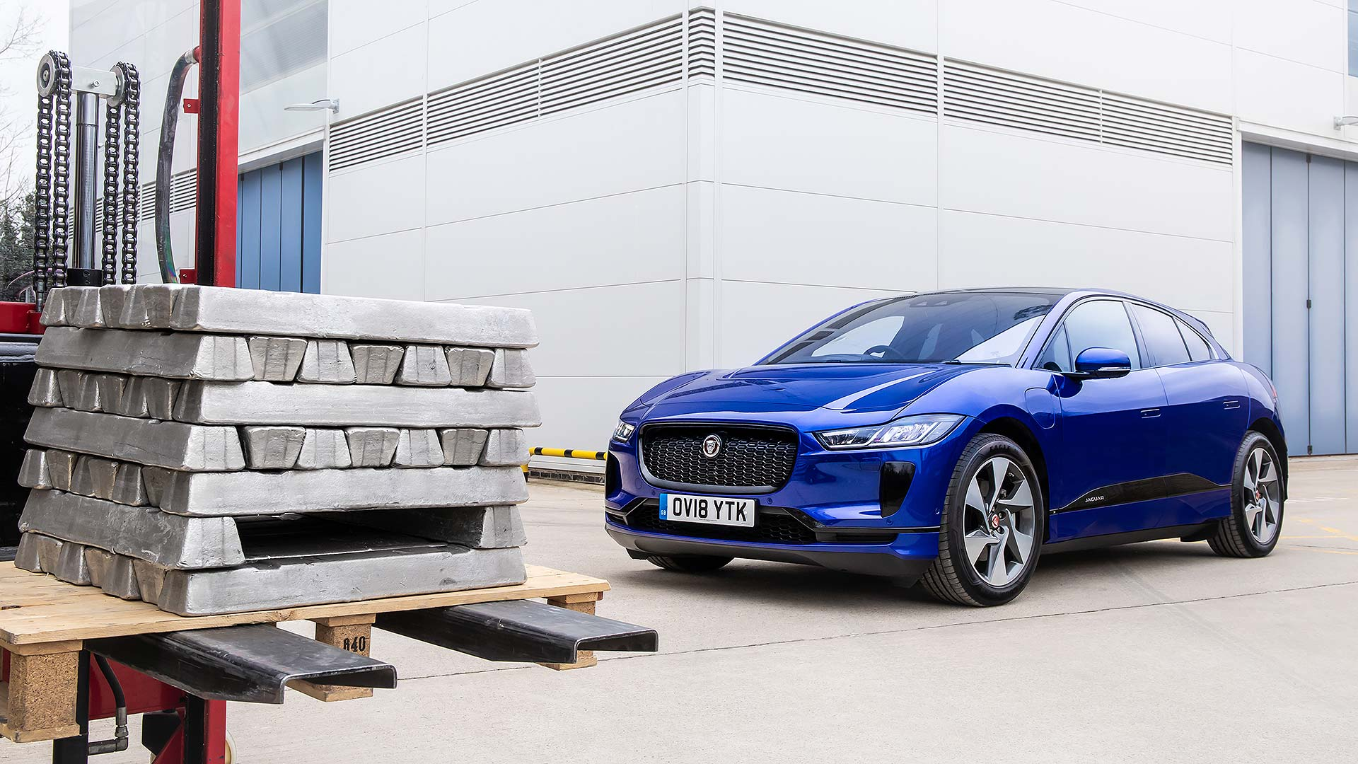 Jaguar is already recycling the I-Pace into the aluminium cars of tomorrow