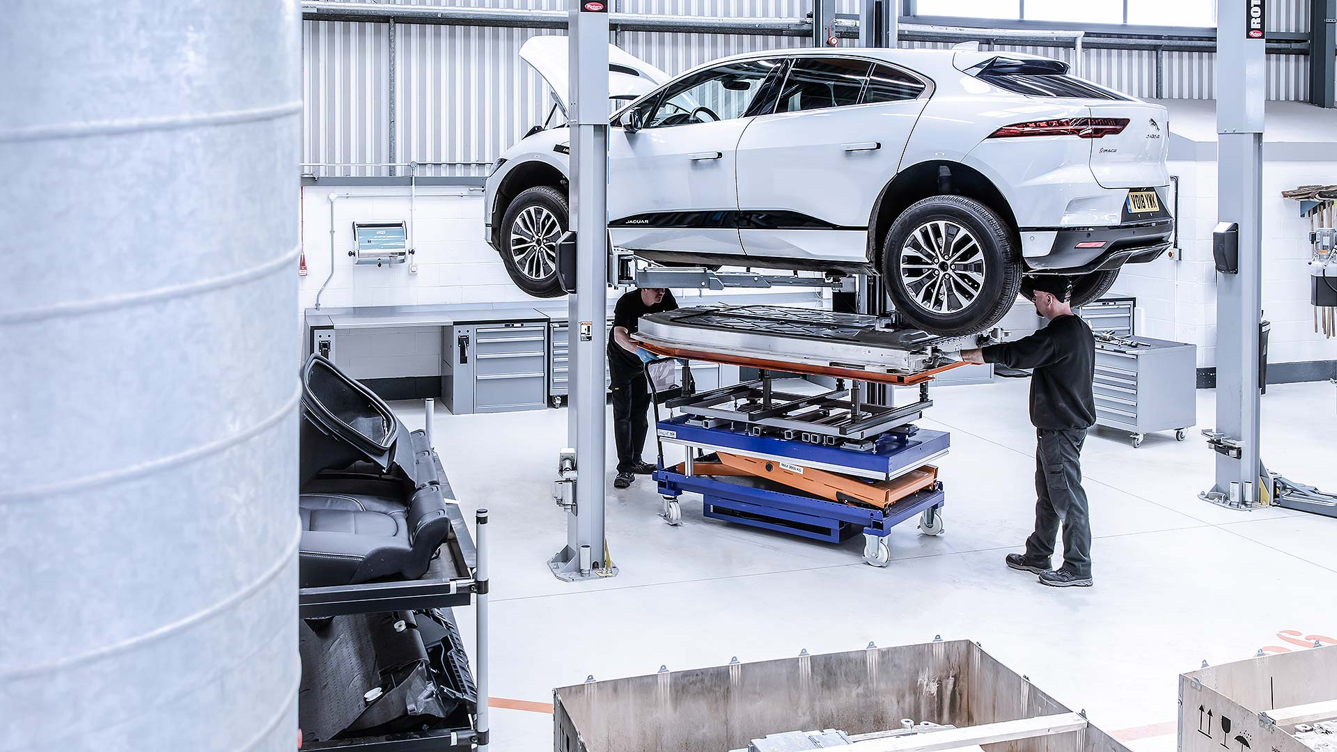 Jaguar I-Pace Reality aluminium recycling project
