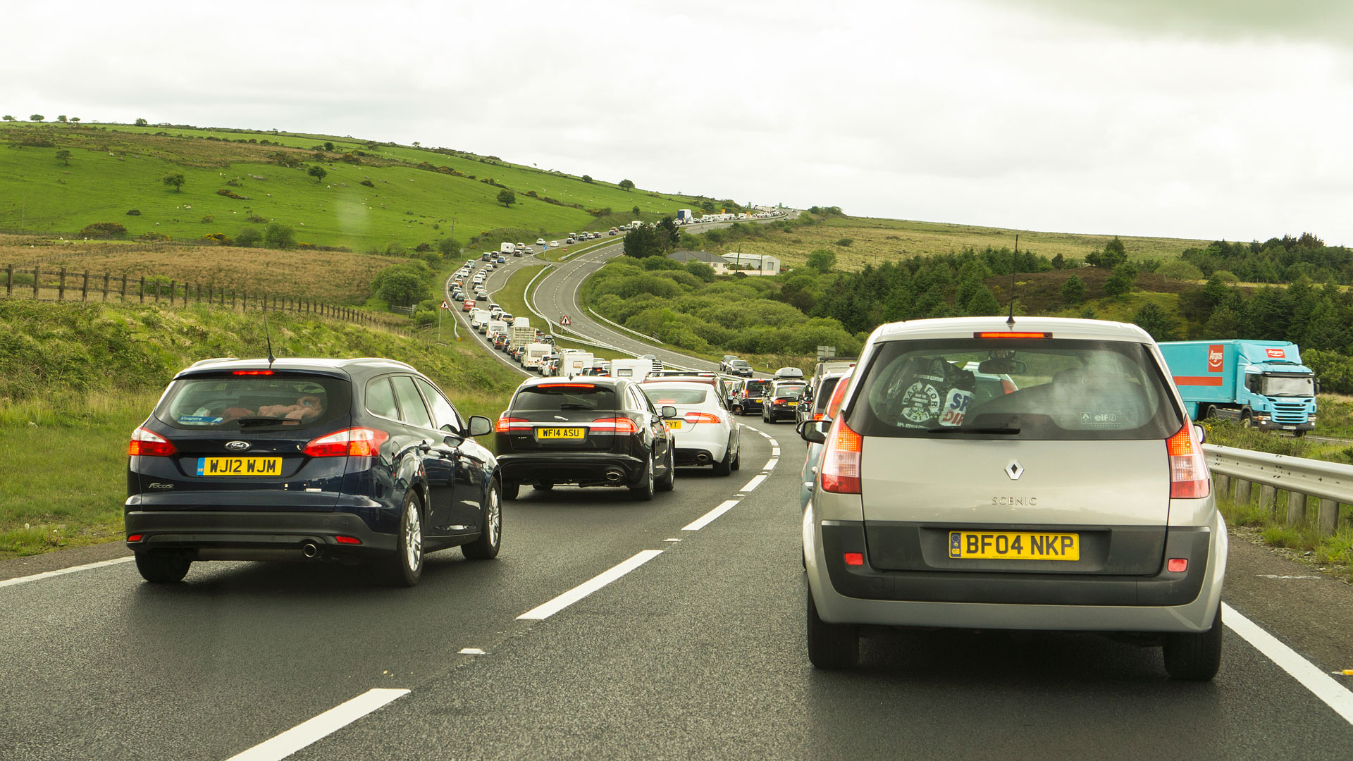 traffic a30 cornwall