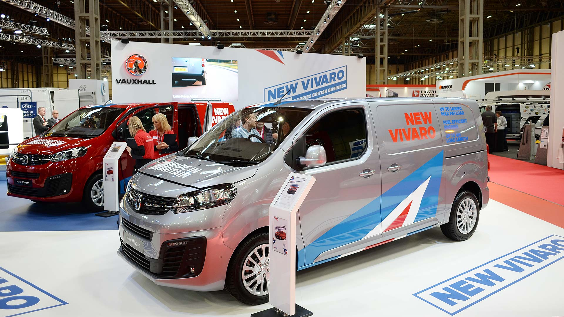 The best new vans at the 2019 CV Show