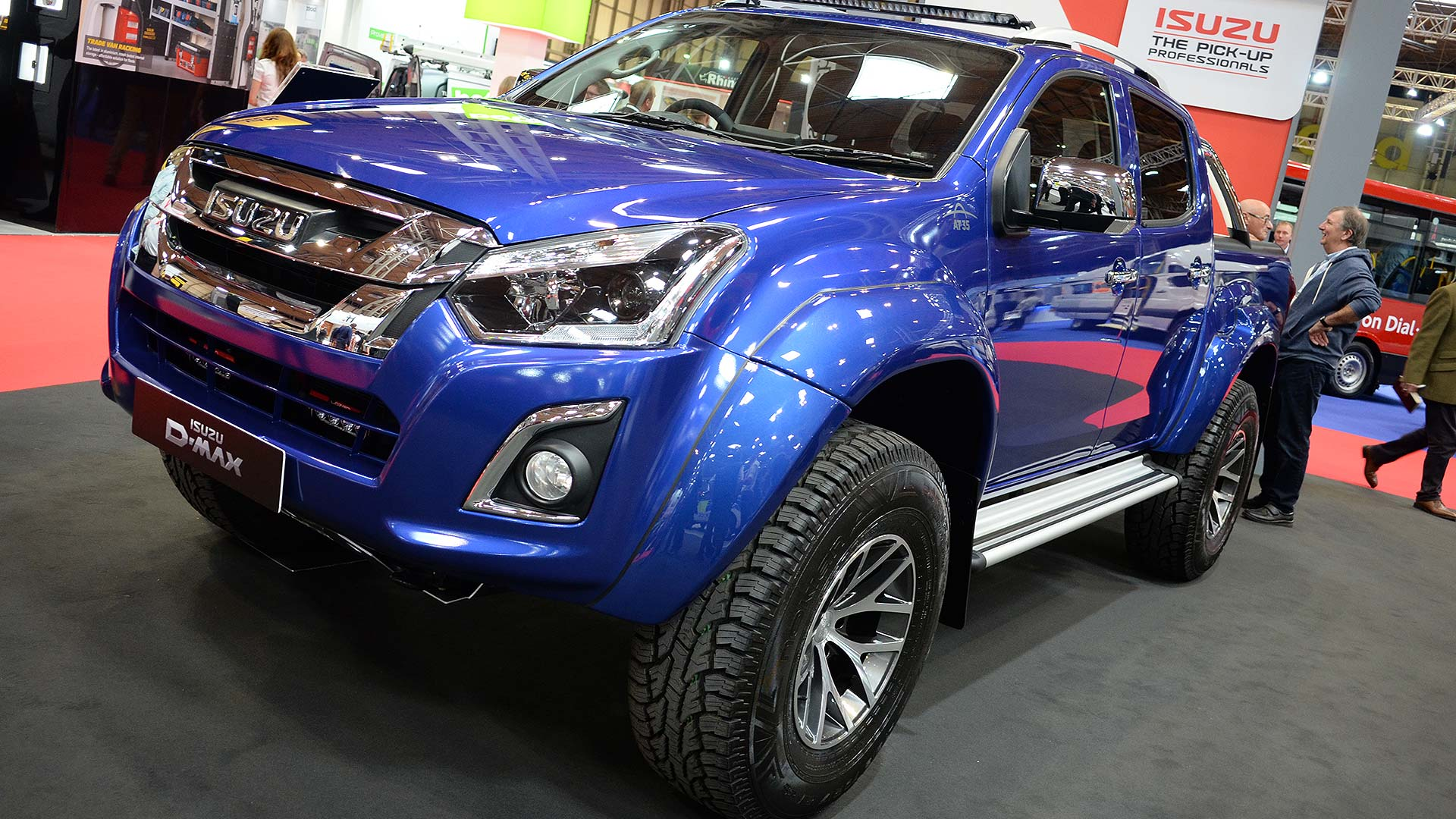 Isuzu D-Max Arctic Trucks AT35 Safir