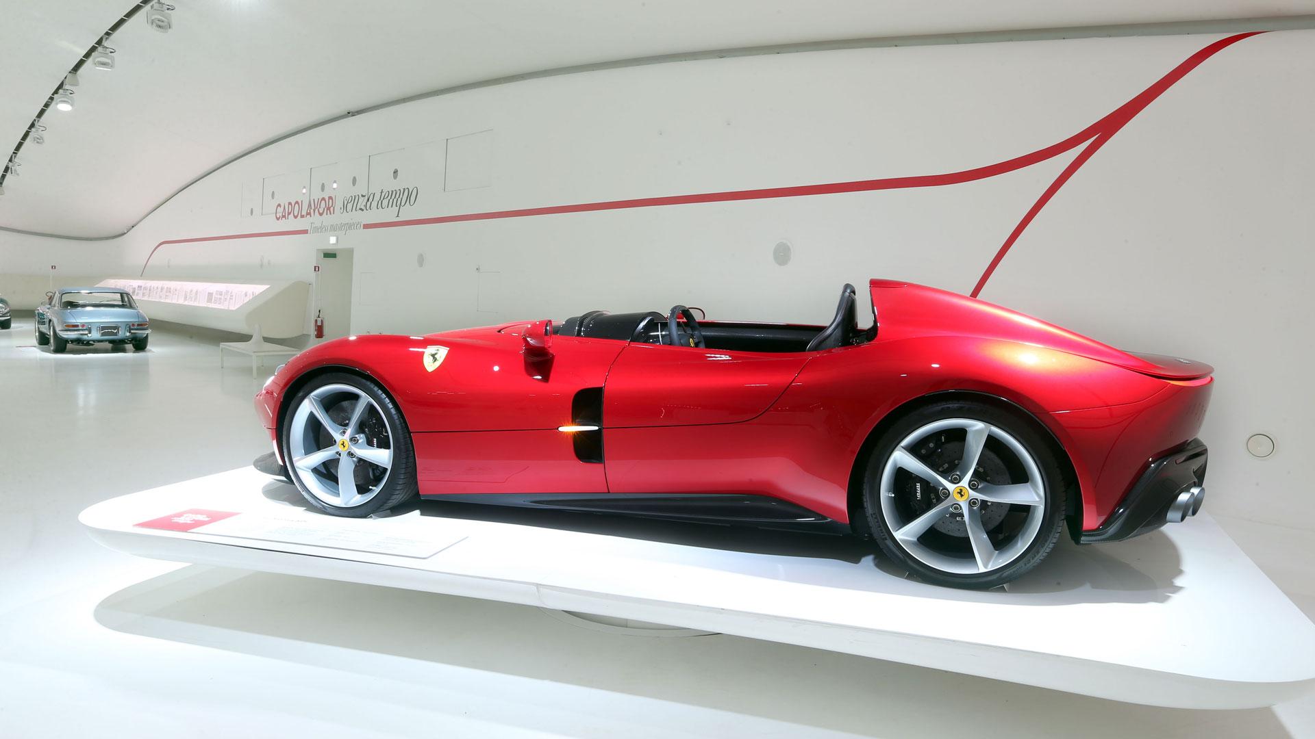 Ferrari Monza SP1 at Museo Enzo Ferrari Modena
